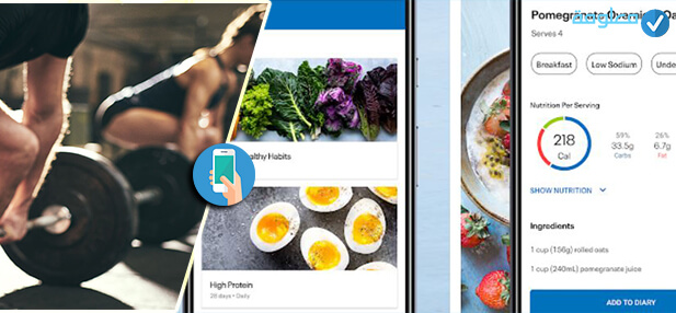 أفضل 10 التطبيقات لتخفيف الوزن ولبناء جسم سليم للأندرويد