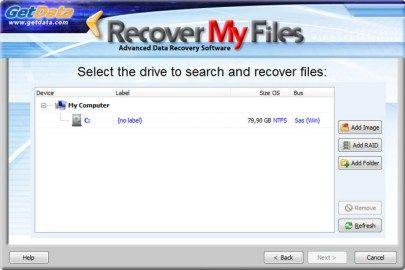 برنامج استعادة المحذوفات للكمبيوتر