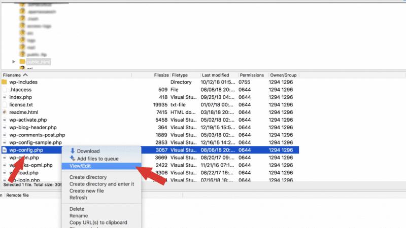 حل مشكلة خطأ Error Establishing a Database Connection في الووردبريس