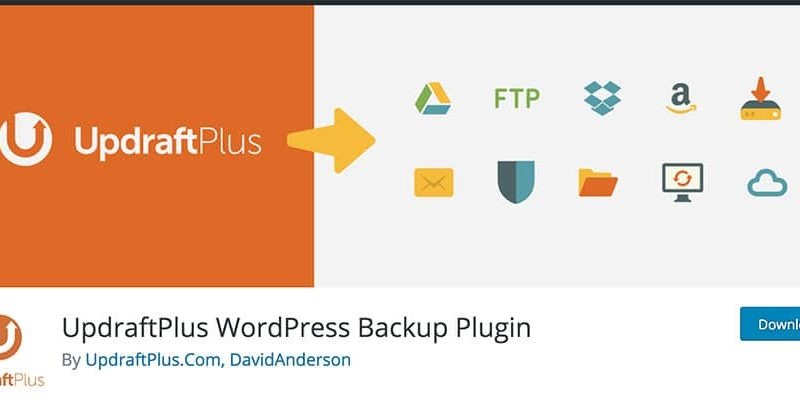 شرح أخد نسخة احتياطية ووردبريس باستخدام UpdraftPlus