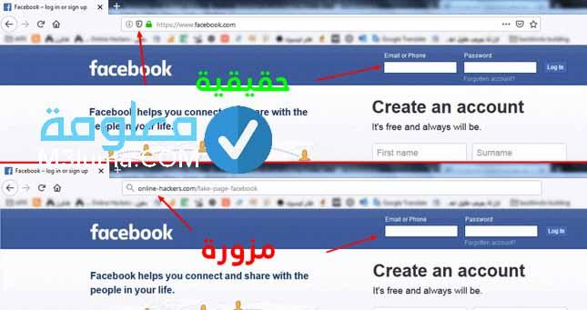 اختراق فيس بوك برابط