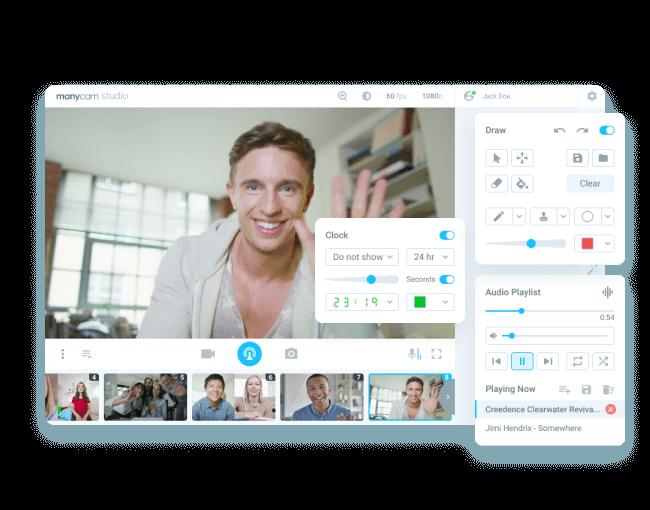 ManyCam | Live video software & Virtual Webcam